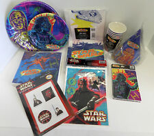 Star Wars Episode 1 Party Supplies Choose from Plates Napkins Favors Hats & more