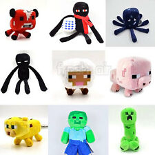 Minecraft Enderman Animals Plush Soft Toy Doll Jazwares Game 6 PCS I-P