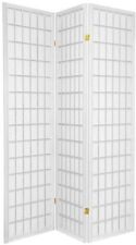 Wood Room Divider 3 Panel or 4 Panel