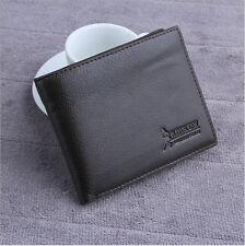 New Mens Leather Wallet Card Holder Coin Purse Pockets Bifold Money Clip Wallets