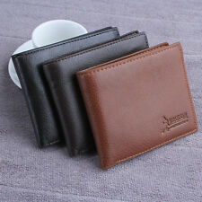 New Leather Mens Wallet Card Clutch Coin Purse Pockets Bifold Money Clip Wallets