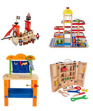 Personalised Wooden Boys Toys Children's Play Set or Work Bench or Garage + More