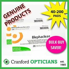 Blephaclean, 40 - 200  Sterile pads. For the daily hygiene of eyelids.