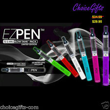 BLOW EZ Pen Vaporizer Kit~Limited Edition~World Finest Vape/Vap/E-Hookah~7 Color