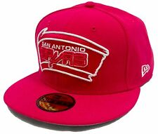 NEW ERA 59Fifty HWC League Basic San Antonio Spurs Pink Fitted Cap White NBA