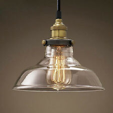 New Vintage Industrial Pendant Light Ceiling Lamp Fixture filament Chandelier