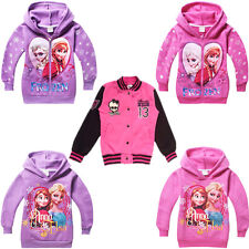 Monster High Girls Fleece Jackets Casual Coats 4-12Y Kids Sport Outwear Clothing