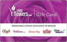30% Discount 1-800-Flowers.com Gift Card