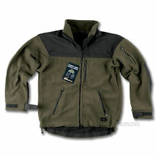 Helikon Jacket Classic Army Fleece Mens Tactical Military Olive/ Black All Sizes