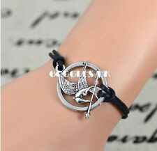 Brand New The Hunger Games Inspired Bracelet Mockingjay & Arrow Bracelet Uk