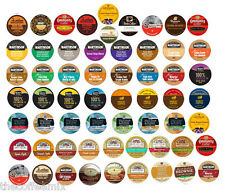 Custom! Single Serve VARIETY Samplers. Flavored coffees, Bolds, Cocoa, Teas!