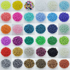 15g (1000pcs)Czech Round Opaque Colorful Glass Seed Beads Jewelry Making,2mm