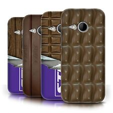 STUFF4 Phone Case/Back Cover for HTC One/1 Mini 2 /Chocolate