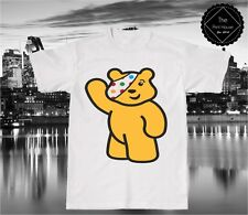 Pudsey Bear #2 T Shirt Tee Top / BBC Children In Need Charity Show Your Spots
