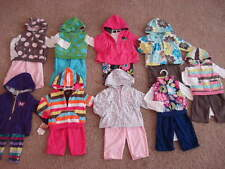 NEW Baby Girls Carters Fleece 3pc Outfit Set Size 3 6 9 18 24 months Clothes NWT