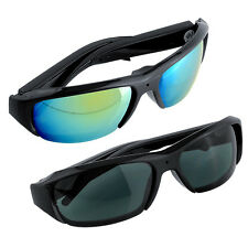 720P Camcorder Glasses Spy Hidden Camera Surveillance DVR Digital Sunglasses