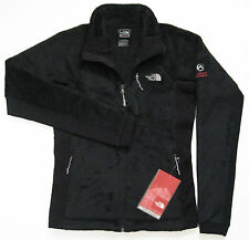 THE NORTH FACE Womens Scythe Jacket Black S Fleece Fuzzy Soft Polyester AMFX NEW
