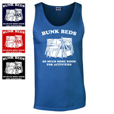 BUNK BEDS FUNNY STEP BROTHERS MOVIE QUOTE MENS TANK TOP