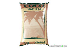 50L, 25L & 10L CANNA COCO NATURAL COIR HYDROPONIC GROWING MEDIA SOIL