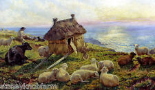 Sheep on the Cliffs ~ Animals ~ Counted Cross Stitch Pattern Chart
