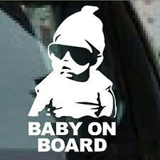 New Baby on Board Car Sticker Vinyl Decal Waterproof Reflective Wall Stickers