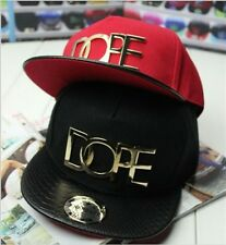 New Fashion Dope Lovers Adjustable Snapback Hip-hop Punk Baseball Cap Unisex Hat