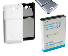 6800mAh Extended Battery + NFC Case Cover for Samsung Galaxy Note 2 II N7100