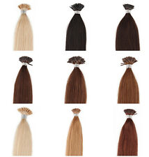 "18'20""22""24all size Stick I-Tip Human Hair Extensions Black Brown Blonde 50g100g"