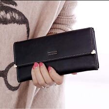 High Quantity Fashion Lady Retro Purse Clutch Wallet Simple Long Card Holder Bag