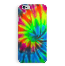 Tie Dye Case For iPhone 6 6S Rainbow Hippy Protective Mobile Hipster Slim Tough