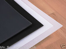 2mm Plastic Hard Floor Protection Cover Sheets Sign Making Corrugated Board