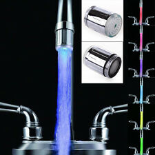 CHEAP 2 STYLE 3 / 7 COLORS LED Light Water-Tap Faucet for Kitchen Bathroom STOCK