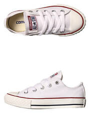 New Converse Boys Kids Chuck Taylor All Star Shoe Canvas Shoes White