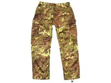 VEGETATO CAMO ACU Digital Camouflage Trousers Pants Italian Army Rip-Stop NEW