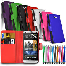 Flip Wallet Leather Case Cover For The Original Vodafone Smart 4 Phone & Stylus