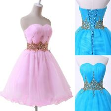 FREE SHIP New Short Formal Prom Masquerade Ball Evening Party Dresses Homecoming