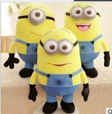 "20"" Despicable Me 2 In Movie Minion Minions 3D Eye Doll Plush Soft Toy Xmas Gif"