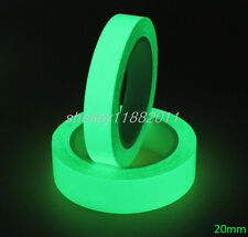 Luminous Glow In Dark Tape Safety Self-adhesive Stage Home Design Decals 20mm