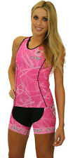 Womens Zoot Performance Tri BCRF 6 Inch Shorts Pink/Pink