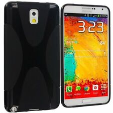 Deal : Samsung galaxy Note 3 Back case cover - TPU X Line Black