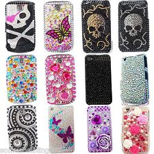 NEW BLING FLOWER COOL DIAMANTE DIAMOND CASE COVER FOR SAMSUNG GALAXY ACE S5830