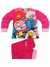 Angry Birds Stella Long Sleeve Pyjama Set for Girls 3 to 12 Years | Pink