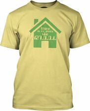 No Place Like Home (Green) Fine Jersey T-Shirt
