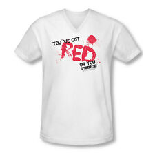 Shaun Of The Dead Red On You Adult V-Neck T-Shirt