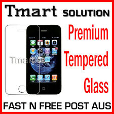 Premium Tempered Glass & Matte LCD Screen Protector FOR Apple iPhone 4S 4 4G 4GS