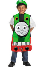 LICENSED PERCY TRAIN THOMAS AND FRIENDS CHILD FANCY DRESS BOOKWEEK COSTUME
