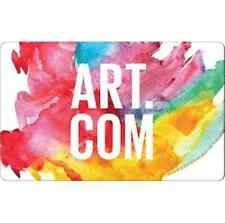 Art.com Gift Card - $25 $50 $100 - Email delivery