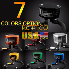 For YZF R1/R6 YZF 1000 US Stock 7 Color Brake Reservoir Oil Fluid Cup Universal