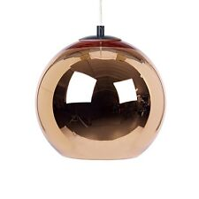 Modern Tom Dixon Copper Mirror Ball Droplight Ceiling Pendant Lamp 7 Sizes
