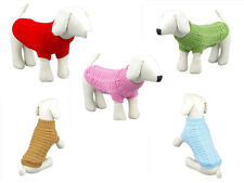 Personalized Big Small Pet Dog Clothes warm Sweater Coats dachshunds chihuahua